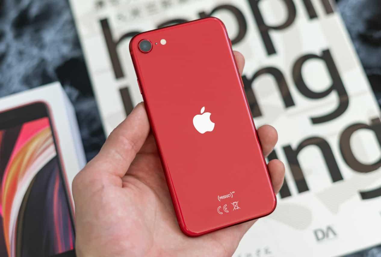 Apple iPhone SE 2020 review achterkant