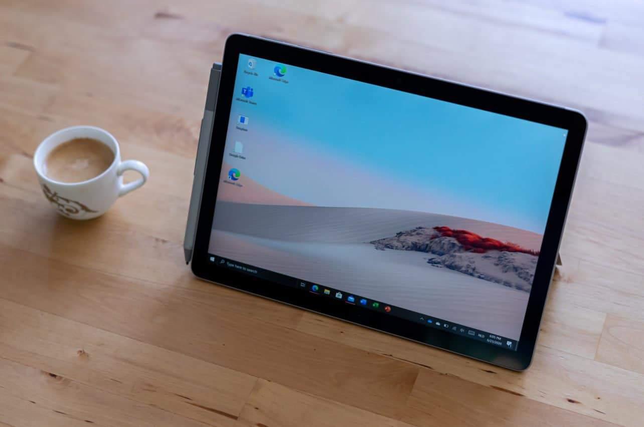 Microsoft Surface Go 2 review kickstand