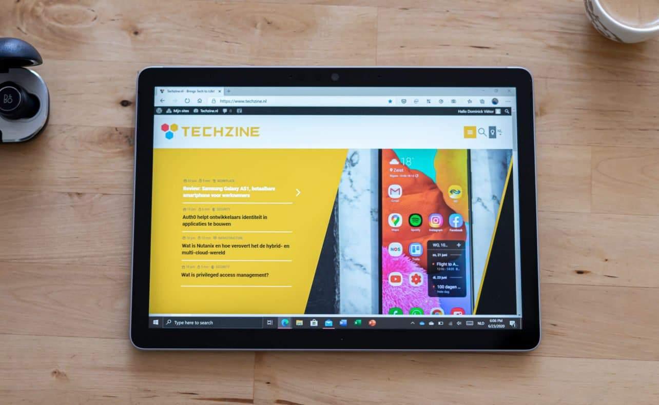Microsoft Surface Go 2 Techzine