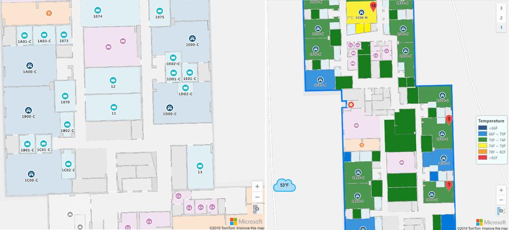 Microsoft kondigt Azure Maps Creator aan om plattegronden te maken