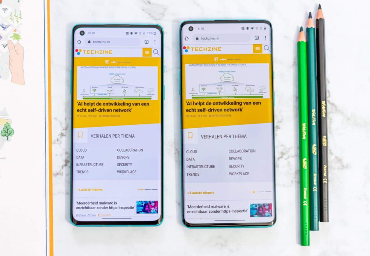 OnePlus 8 (Pro) techzine