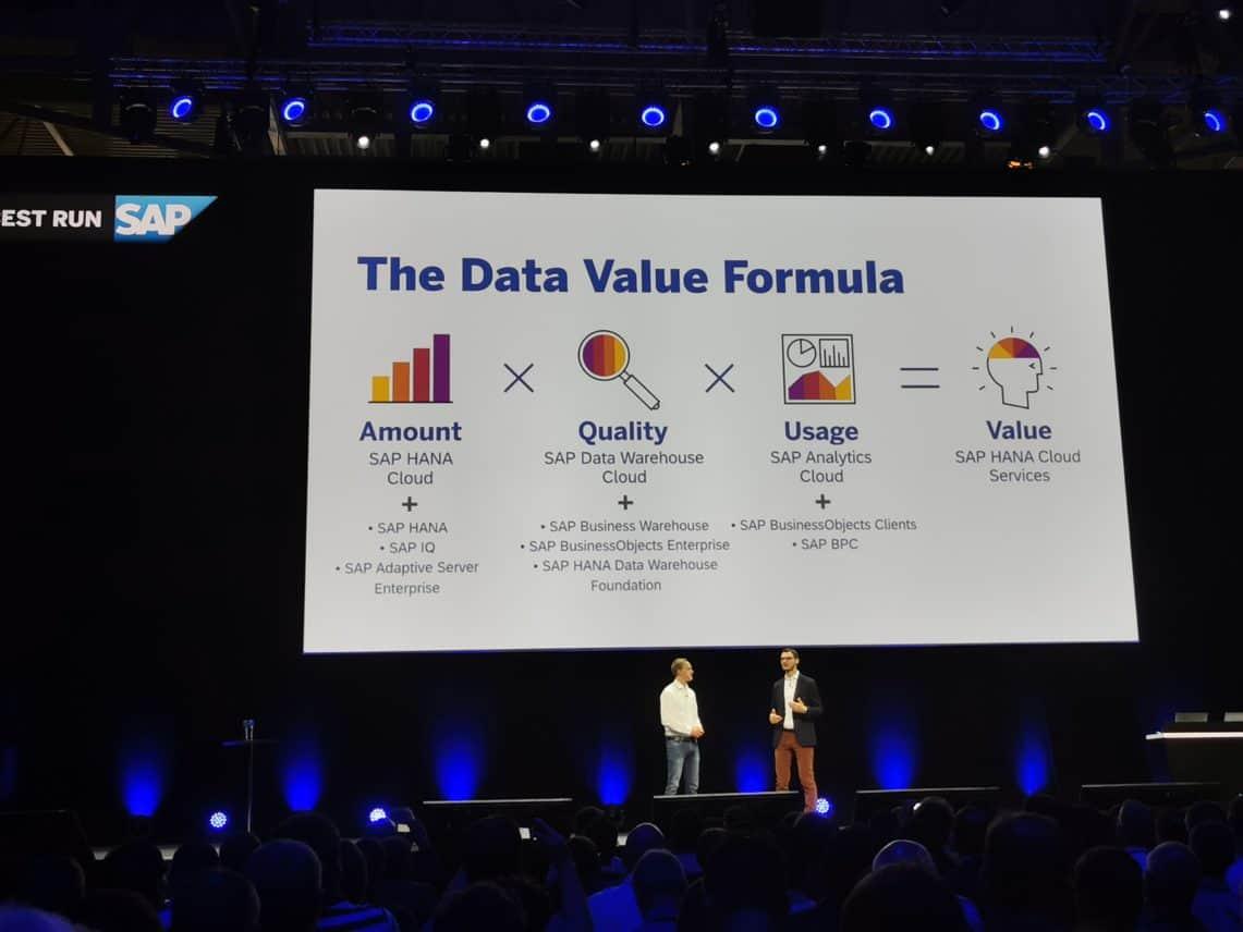 SAP wil met HANA de hybride datafundering voor bedrijven leggen