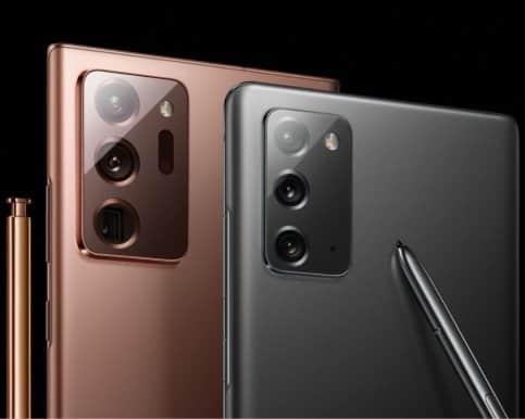 Samsung toont twee Galaxy Note 20-modellen en een vouwbare smartphone