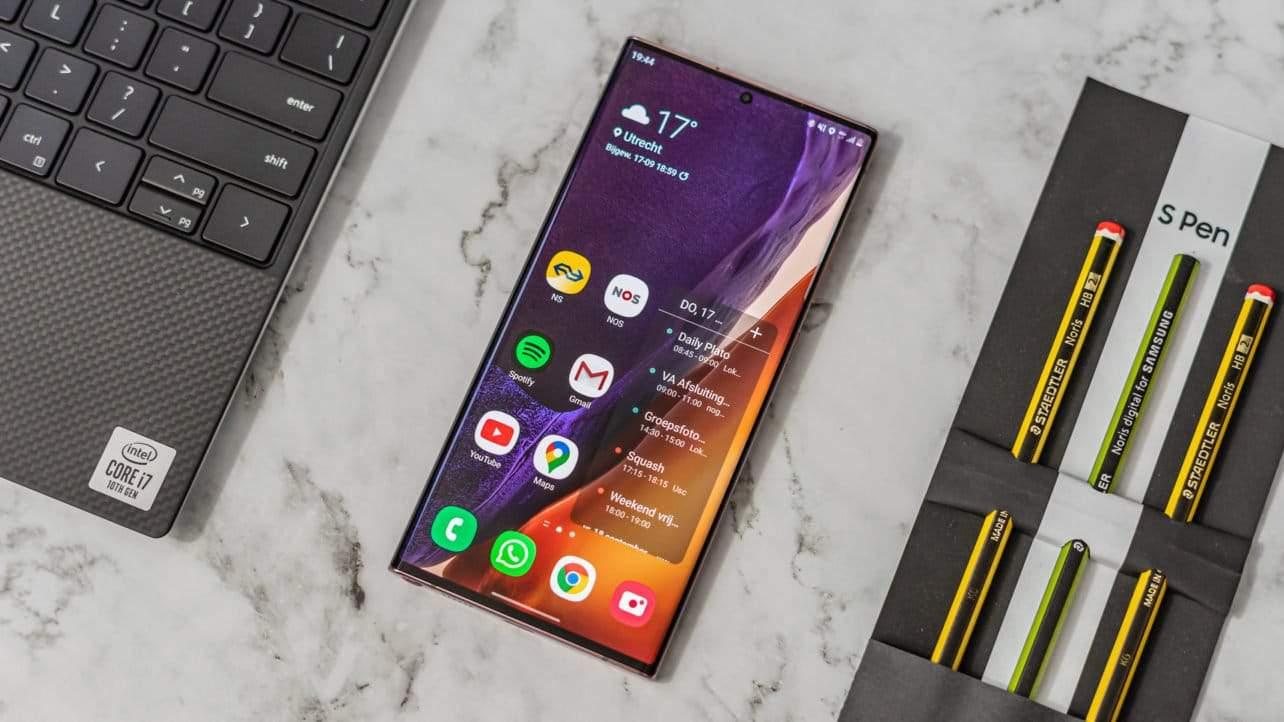 Review: Samsung Galaxy Note 20 Ultra is goed, niet meer de beste