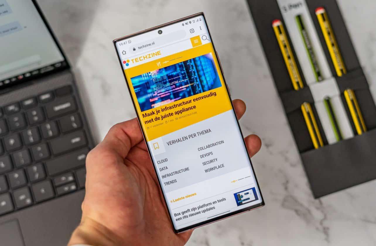 Samsung Galaxy Note 20 Ultra review overzicht