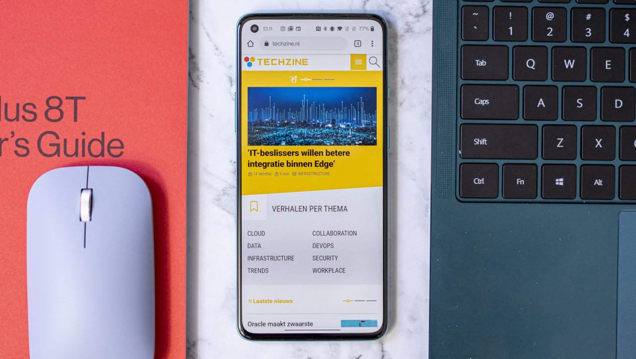 OnePlus 8T review Techzine