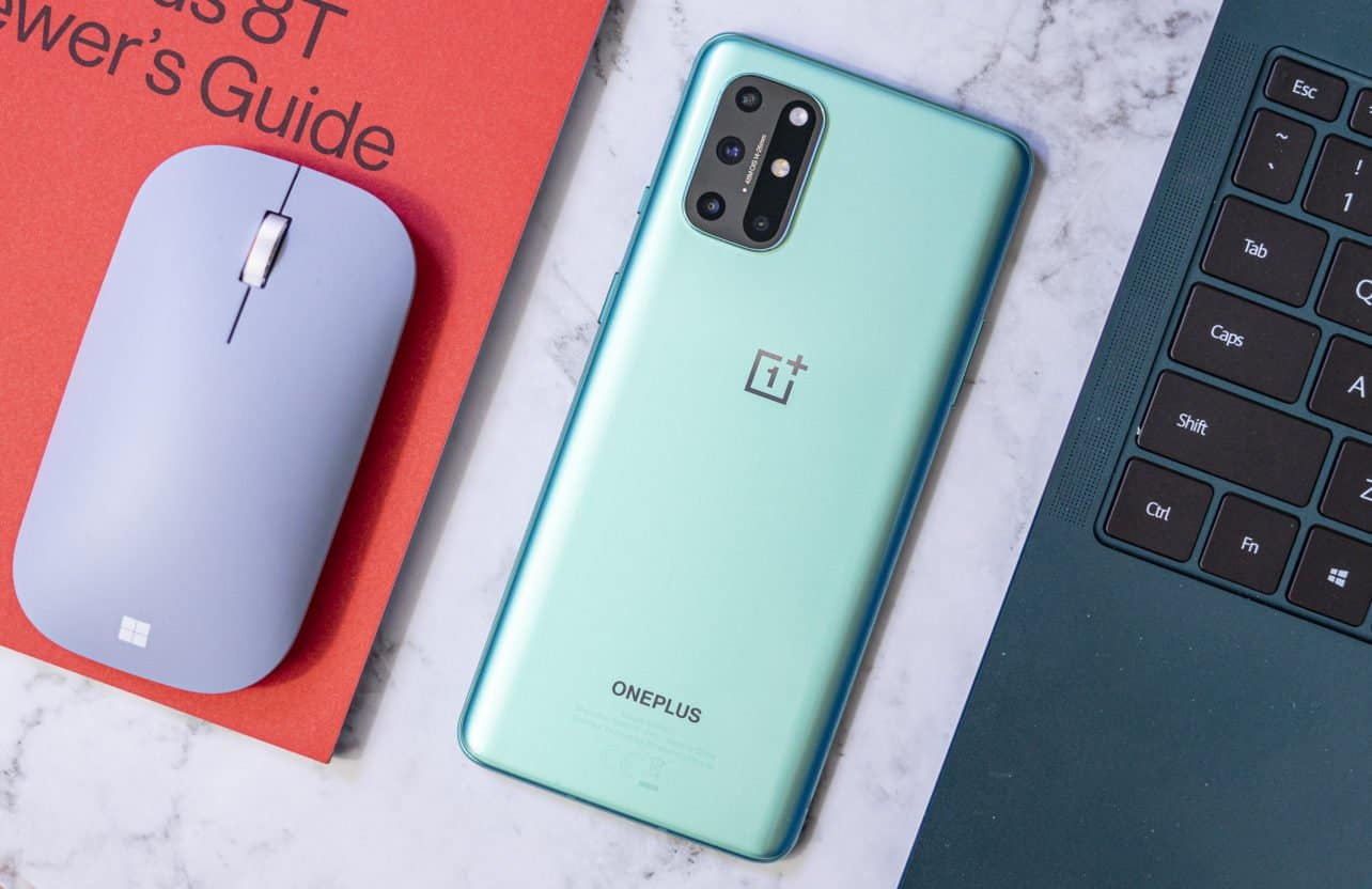 OnePlus 8T review achterkant