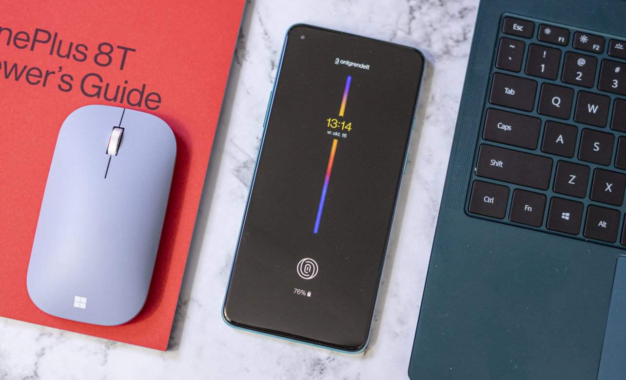 OnePlus 8T review AOD