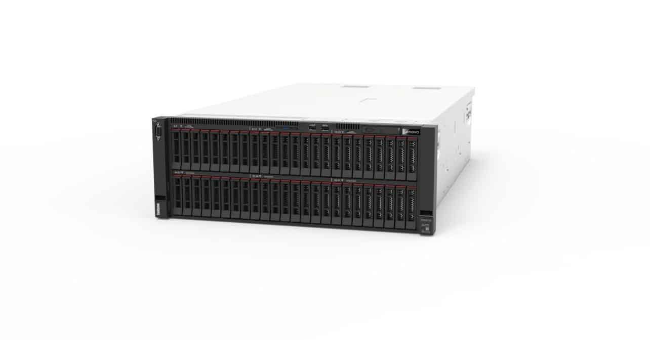 Lenovo introduceert AI-servers met Nvidia A100