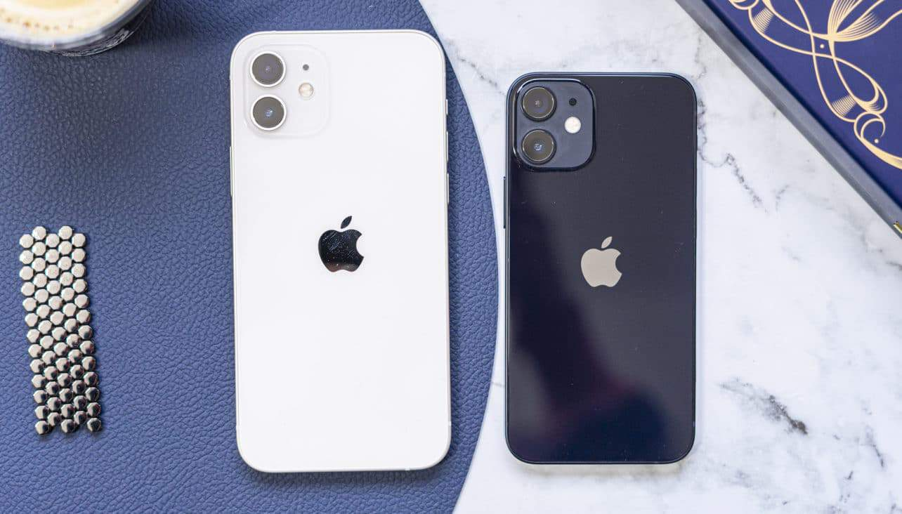 Apple iPhone 12 (mini) achterkant