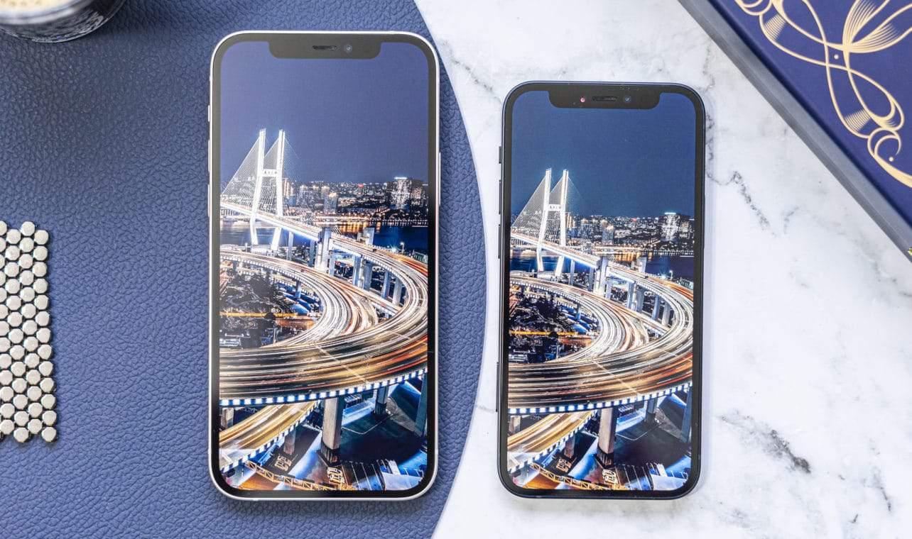 Apple iPhone 12 (mini) scherm