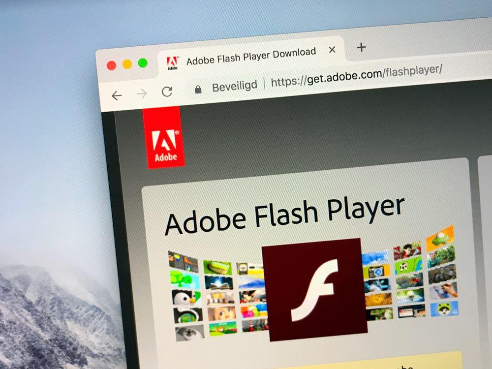 Ondersteuning voor Flash officieel stopgezet