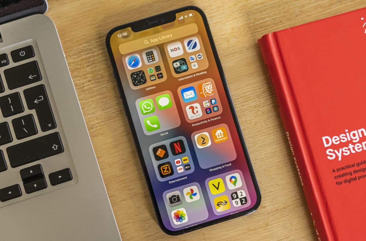 Apple iPhone 12 Pro Max review menu