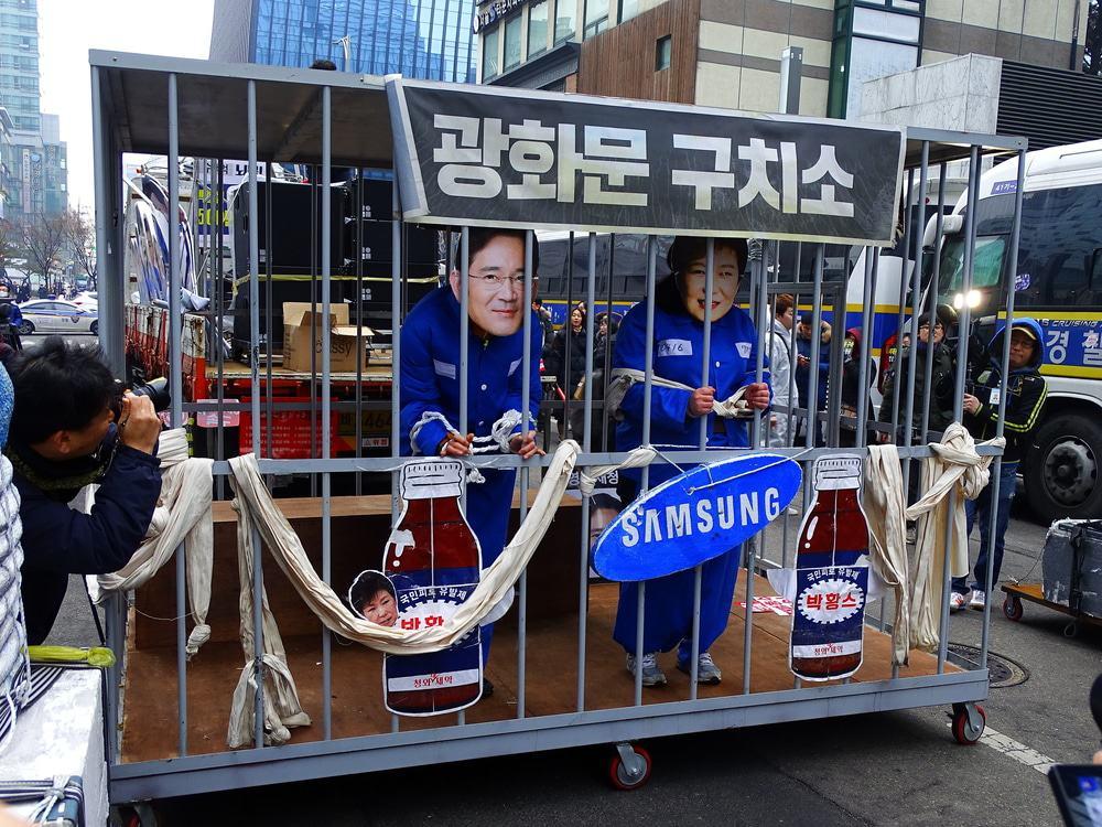 Samsung-topman Lee Jae-yong krijgt gevangenisstraf voor omkoping