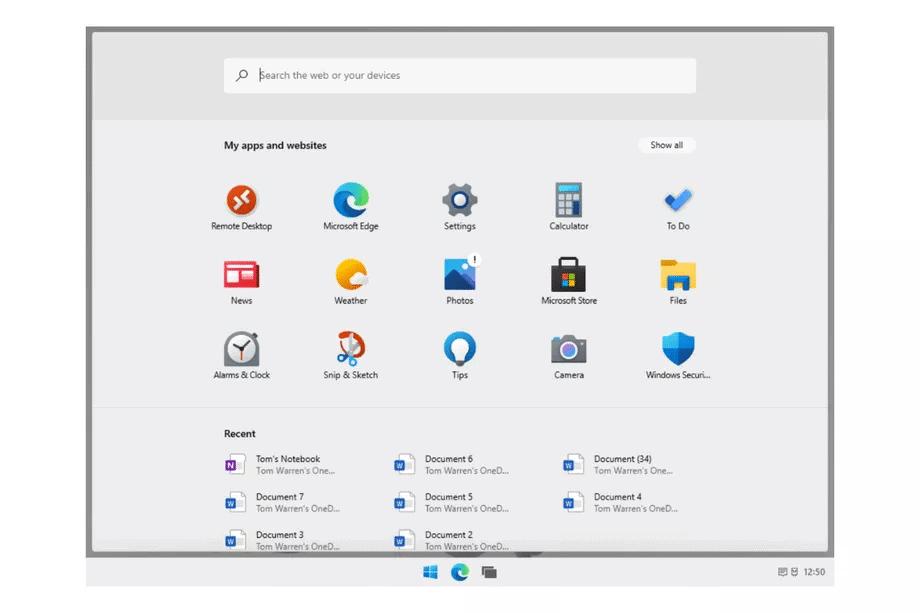 Windows 10X uitgelekt: lijkt sterk op ChromeOS