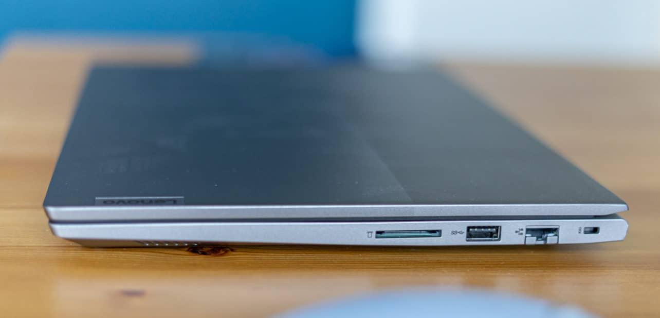 Lenovo ThinkBook 14 G2 review aansluitingen