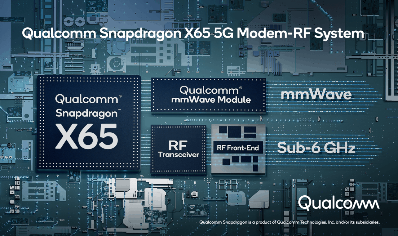 Qualcom komt met 5G-modem voor snelheden tot 10 gigabit