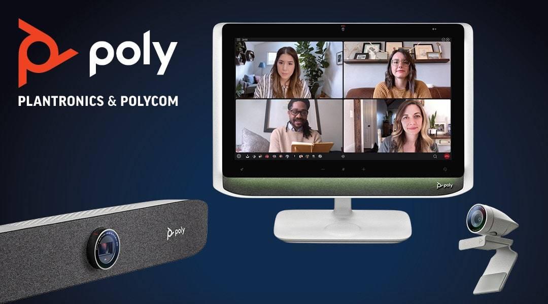 Poly komt met monitor Studio P21 voor videovergaderingen