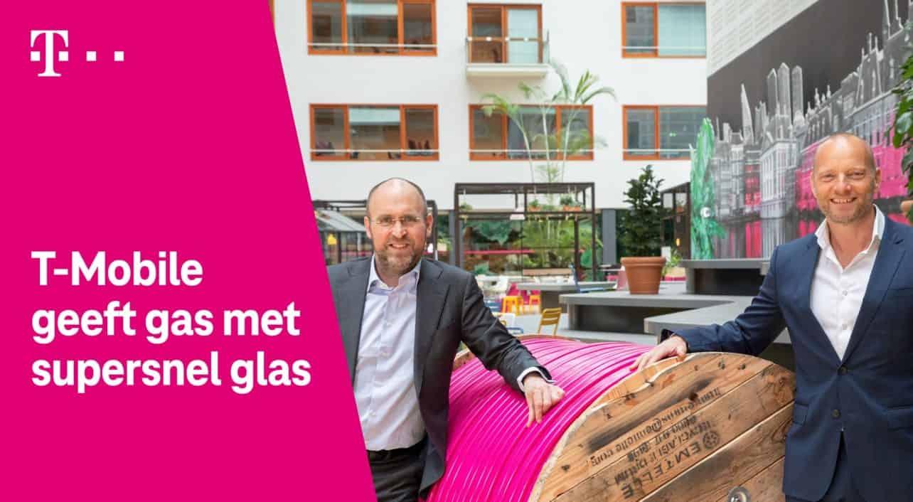 T-Mobile wil miljoen Nederlandse huishoudens van glasvezel voorzien