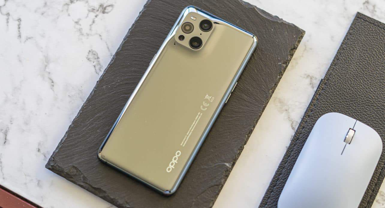 Oppo Find X3 Pro review achterkant
