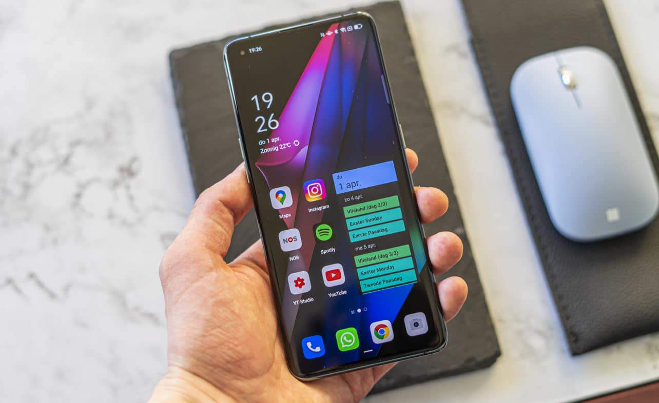 Oppo Find X3 Pro review in hand
