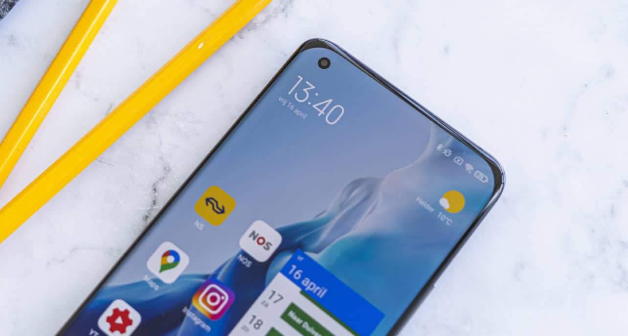 Xiaomi Mi 11 review schermhoeken