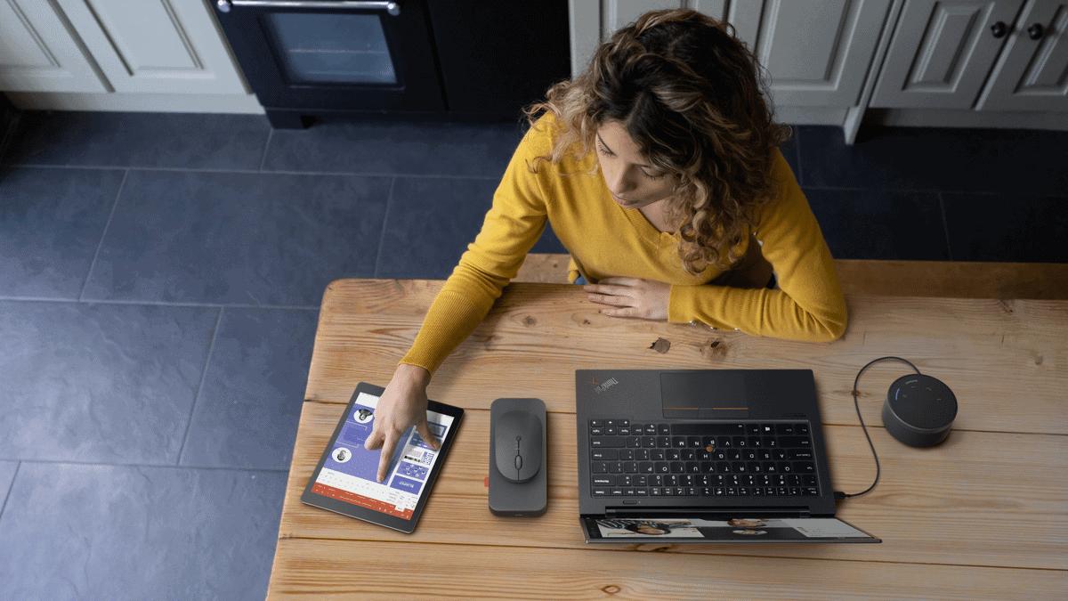 Lenovo introduceert Go-accessoires voor hybride werknemer