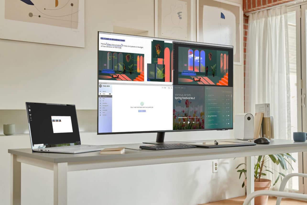 Samsung komt met 43 inch 'do-it-all' monitor