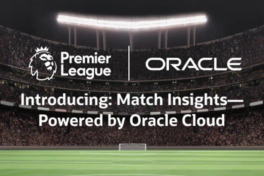 Premier League werkt samen met Oracle voor inzichten in voetbal