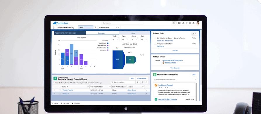 Salesforce introduceert meer tooling voor Financial Services Cloud