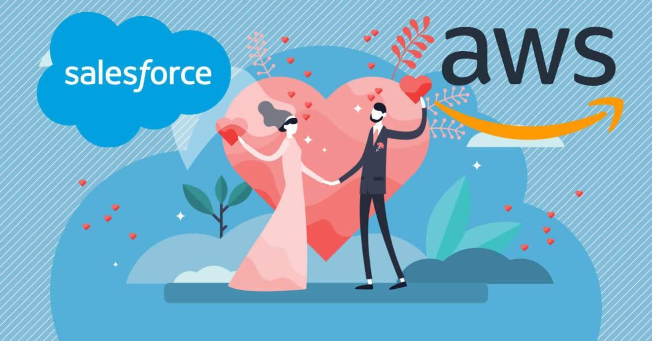 Stappen AWS en Salesforce in huwelijksbootje?