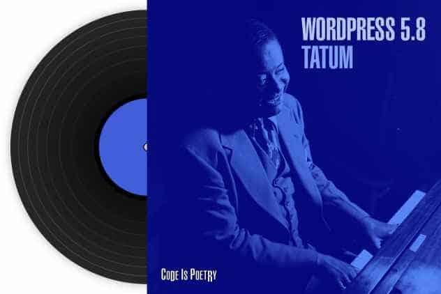 WordPress lanceert 5.8-versie 'Tatum'