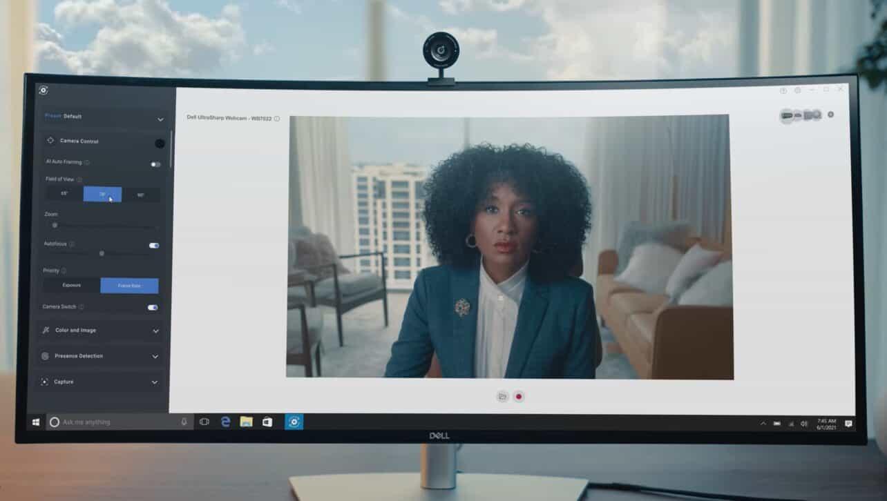 Dell komt met nieuwe 4K Ultrasharp Webcam