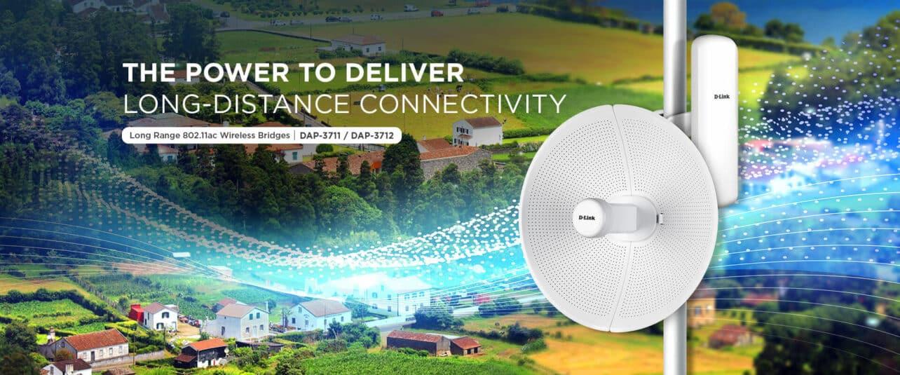Nieuwe wireless bridges van D-Link voor 5 km en 20 km