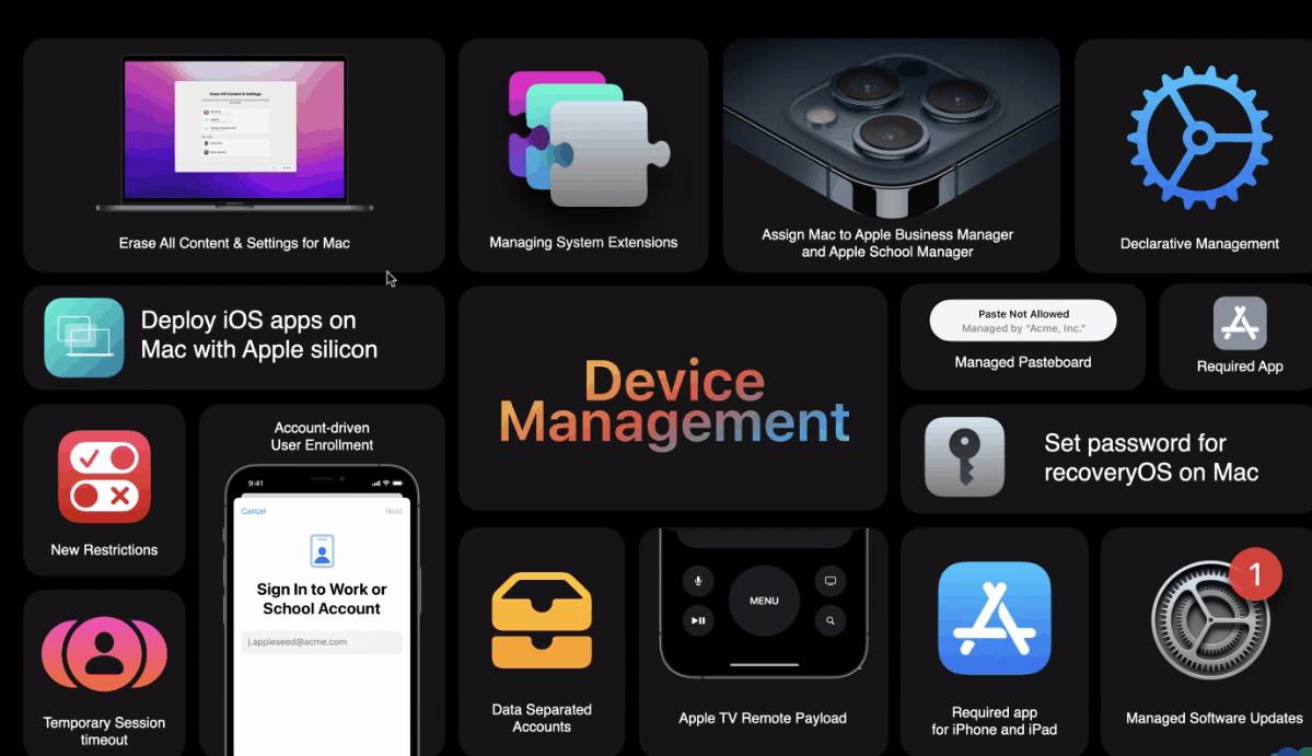 Apple OS-updates richten zich vooral op zakelijk gebruik