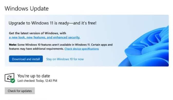 Windows 10 21H2 en Windows 11 beschikbaar voor zakelijke tests