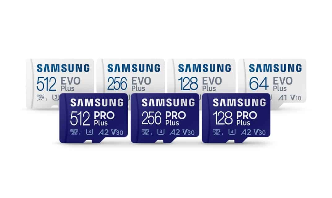 Samsung introduceert PRO Plus en EVO Plus