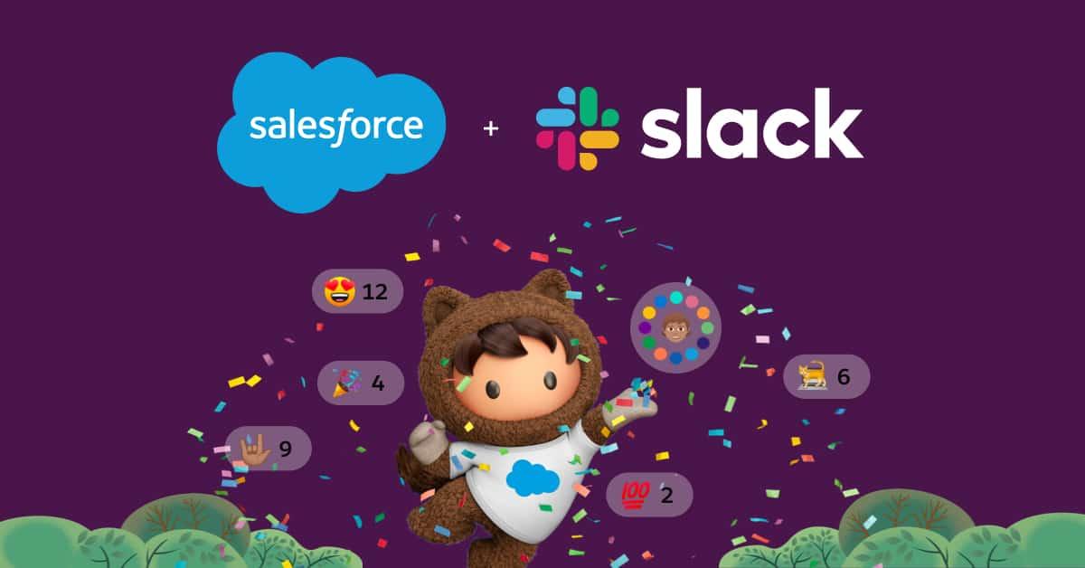 De wereld van Salesforce draait nu om Slack