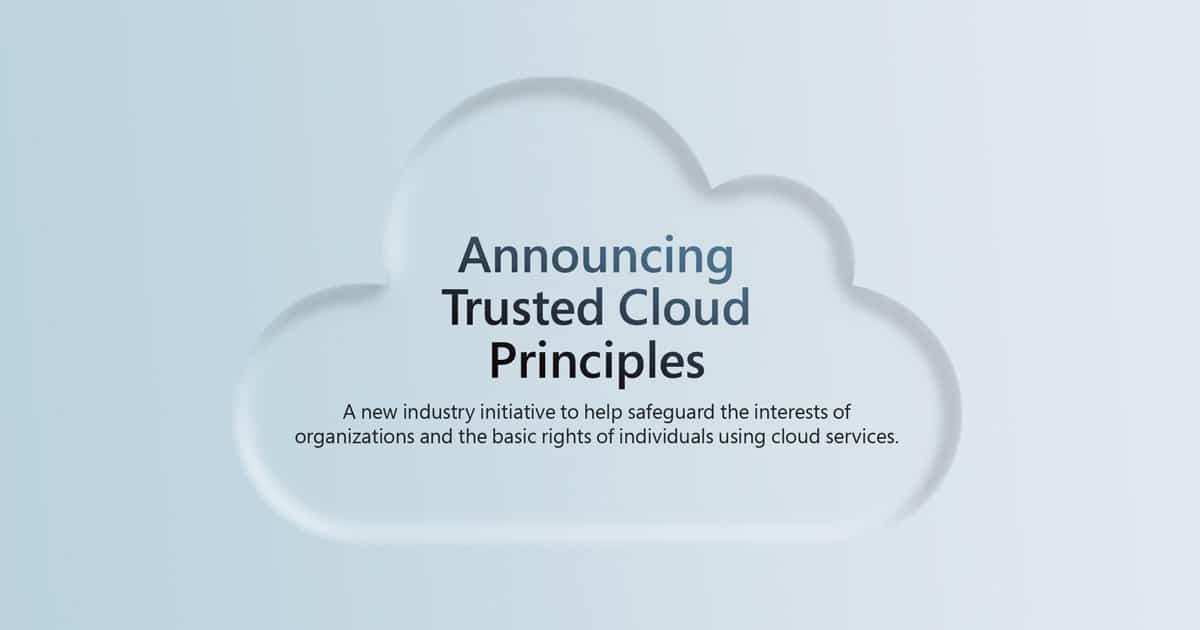 Framework Microsoft, Google en Amazon voor privacyrechten klanten