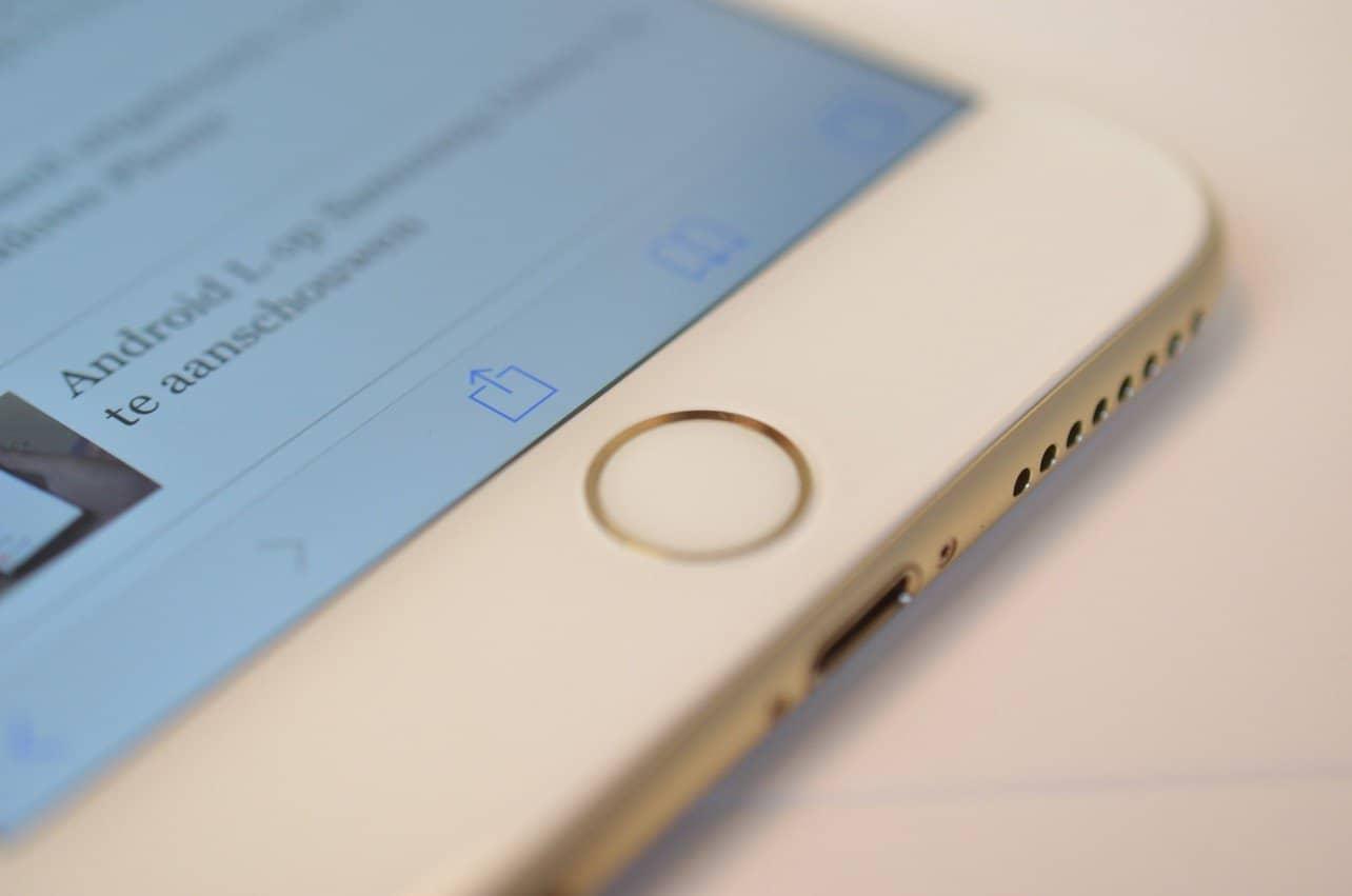 Apple krijgt patent voor vingerafdrukscanner in touchscreen