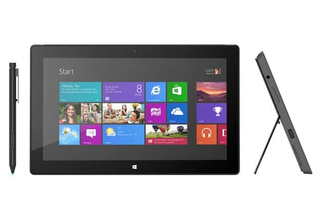 'Microsoft Surface tablet te koop voor 199 dollar'
