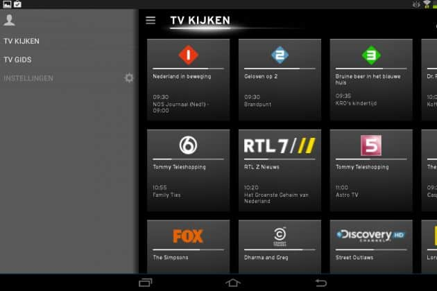 Review: UPC Horizon TV voor Android