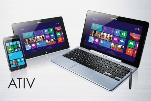 Samsung introduceert ATIV Windows (Phone) 8 series
