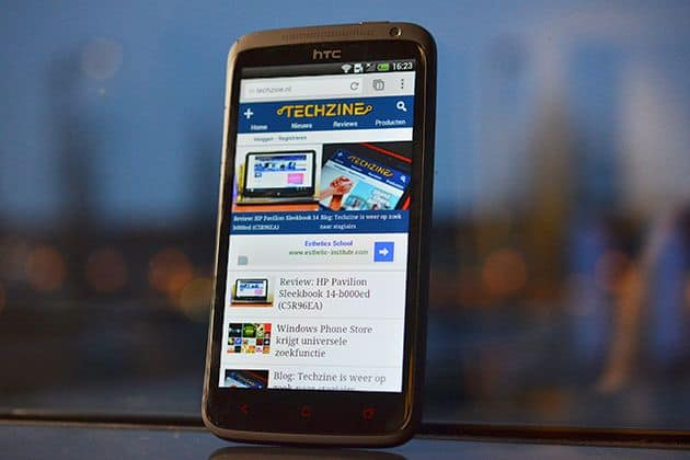 HTC start uitrol Android 4.2 Jelly Bean voor One X