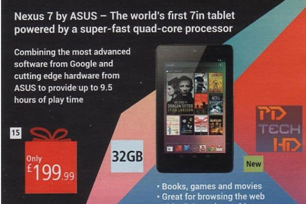 Nexus 7 met 32GB even duur als 16GB-variant